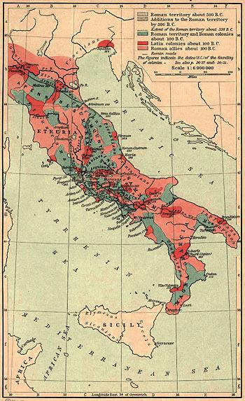 Samnite Wars map